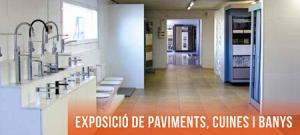 Exposició paviments, cuines i banys